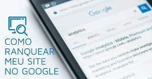 Ranquear site no google