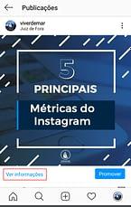 Ver alcance do instagram