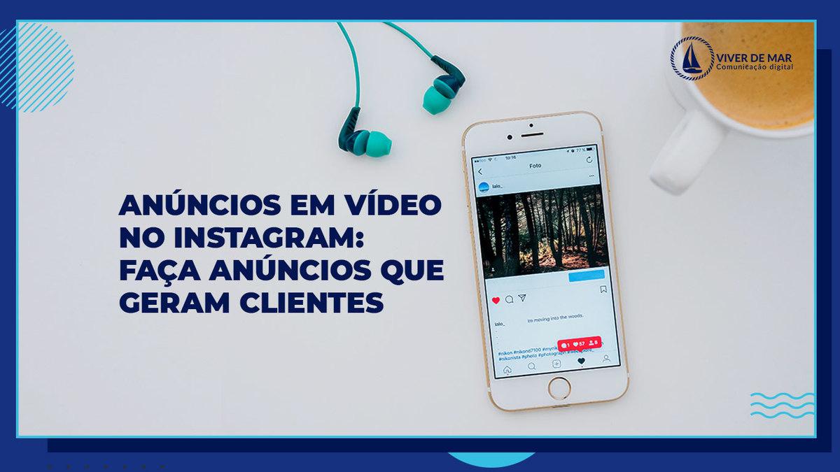 Anúncios em Vídeo no Instagram