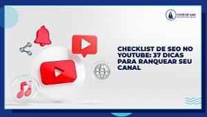 Checklist de SEO no Youtube