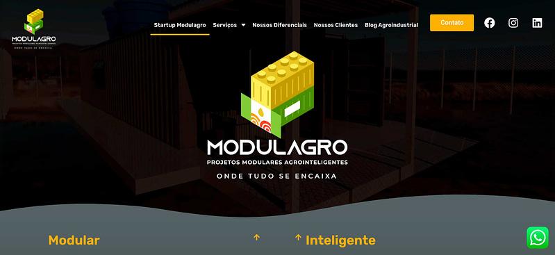Criação de Site Modulagro